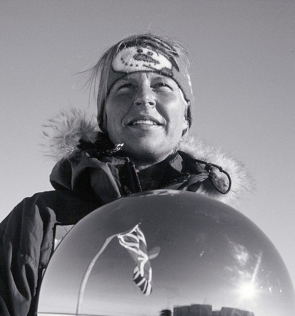 ESG provided polar nutrition and supplement services for Fiona Thornewill's South Pole solo walk